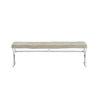 This item: Savannah Taupe Bench