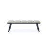 This item: Ethan Light Gray Bench
