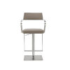This item: Zuri Taupe 36-Inch Barstool