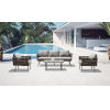 This item: Oasis Taupe Outdoor Furniture Set, 4-Piece