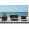 This item: Angelina Gray Outdoor Furniture Set, 4-Piece