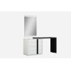 This item: Kimberly High Gloss Black Dresser with Extension