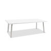 This item: Rio Matte White Outdoor Dining Table