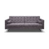 This item: Giovanni Gray Sofa Bed
