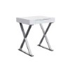 This item: Elm High Gloss White Small Desk