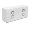 This item: Eddy High Gloss White Double Dresser