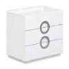 This item: Eddy High Gloss White Single Dresser