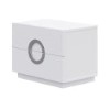 This item: Eddy High Gloss White Small Night Stand