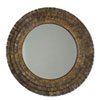 This item: Brown Mistral Wall Mirror
