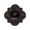 This item: Ornate Dark Bronze Oval Doorbell Button Cover