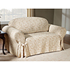 This item: Champagne Scroll Sofa Slipcover