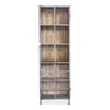 This item: Moleskin Gray 75-Inch Right Handle Display Cabinet