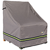 This item: Soteria Grey RainProof 32 In. Patio Chair Cover
