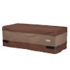 This item: Ultimate Mocha Cappuccino 47-Inch Rectangular Patio Coffee Table Cover