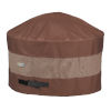 This item: Ultimate Mocha Cappuccino 68-Inch Round Fire Pit Cover