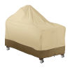 This item: Ash Beige and Brown 60-Inch Kamado Ceramic BBQ Grill Cover
