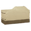 This item: Ash Beige and Brown BBQ Grill Cover for 78-Inch Island with Left - Right Grill Head
