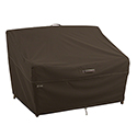 This item: Birch Dark Cocoa Medium RainProof Patio Loveseat Cover