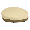 This item: Ash Beige and Brown 90-Inch Round Patio Daybed Cover