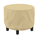 This item: Palm Medium Round Ottoman Cover