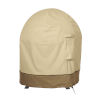 This item: Ash Beige and Brown Globe Fire Pit Cover
