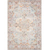 This item: Clara Gray and Ivory 29 x 91-Inch Power Loomed Rug