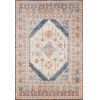 This item: Clara Pebble and Fiesta 94 x 126-Inch Power Loomed Rug