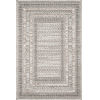This item: Cole Gray and Multicolor 4 Ft. x 5 Ft. 9 In. Power Loomed Rug
