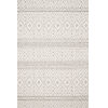 This item: Cole Silver and Ivory 7 Ft. 10 In. x 10 Ft. 1 In. Power Loomed Rug