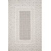 This item: Cole Gray and Ivory 2 Ft. 7 In. x 7 Ft. 9 In. Power Loomed Rug