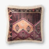 This item: Ivory Multicolor Acrylic and Polyester 22 In. x 22 In. Throw Pillow Cover with Down