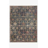 This item: Giada Navy and Multicolor Rectangle: 6 Ft. 3 In. x 9 Ft. Rug