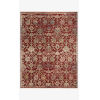This item: Giada Red and Multicolor Rectangle: 5 Ft. x 7 Ft. 10 In. Rug