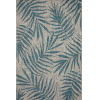 This item: Isle Grey with Aqua Rectangle: 2 Ft. 2 In. x 3 Ft. 9 In. Rug