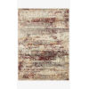 This item: Jasmine Dove and Rust Rectangle: 3 Ft. 7 In. x 5 Ft. 7 In. Rug