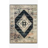 This item: Jasmine Ink and Multicolor Rectangle: 5 Ft. 3 In. x 7 Ft. 8 In. Rug