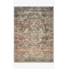 This item: Jasmine Natural and Multicolor Rectangle: 5 Ft. 3 In. x 7 Ft. 8 In. Rug