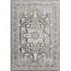 This item: Joaquin Charcoal and Ivory 5 Ft. 3 In. x 5 Ft. 3 In. Round Power Loomed Rug