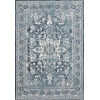 This item: Joaquin Ocean and Ivory 6 Ft. 7 In. x 9 Ft. 2 In. Power Loomed Rug