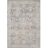 This item: Lucia Gray and Mist 93 x 126-Inch Power Loomed Rug