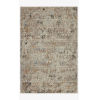 This item: Leigh Ivory and Granite Rectangle: 5 Ft. 3 In. x 7 Ft. 6 In. Rug