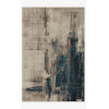This item: Leigh Slate and Denim Rectangle: 5 Ft. 3 In. x 7 Ft. 6 In. Rug