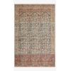 This item: Loren Charcoal and Multicolor Rectangle: 7 Ft. 6 In. x 9 Ft. 6 In. Rug