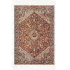 This item: Lourdes Rust and Multicolor Rectangle: 5 Ft. 3 In. x 7 Ft. 9 In. Rug
