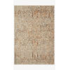 This item: Lourdes Ivory and Orange Rectangle: 2 Ft. 3 In. x 3 Ft. 10 In. Rug