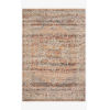 This item: Lourdes Tangerine and Ocean Rectangle: 5 Ft. 3 In. x 7 Ft. 9 In. Rug