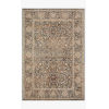This item: Lourdes Charcoal and Ivory Rectangle: 5 Ft. 3 In. x 7 Ft. 9 In. Rug