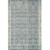 This item: Mika Ocean 63 x 92-Inch Power Loomed Rug