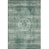 This item: Mika Green and Mist 18 x 18-Inch Power Loomed Rug
