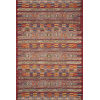 This item: Mika Red and Multicolor 63 x 92-Inch Power Loomed Rug